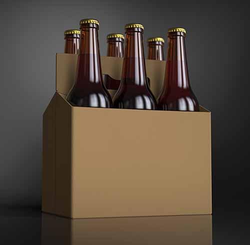 etiquetado automático de packs de bebidas